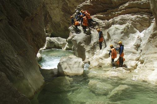Canyoning - Activités montagne VIREVOLTE