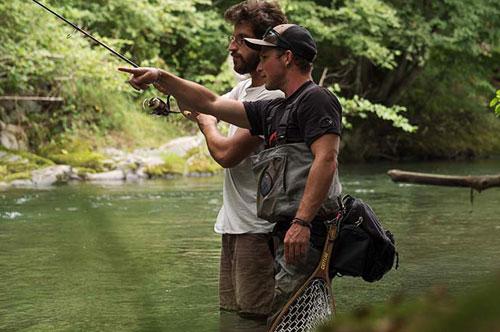 Pêche en montagne, activités sportives - VIREVOLTE