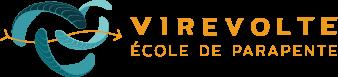 logo Virevolte - école et boutique de parapente